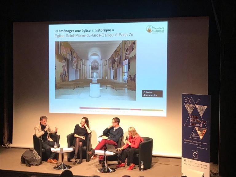 Sterenn Architecture - Conférence au salon international du patrimoine