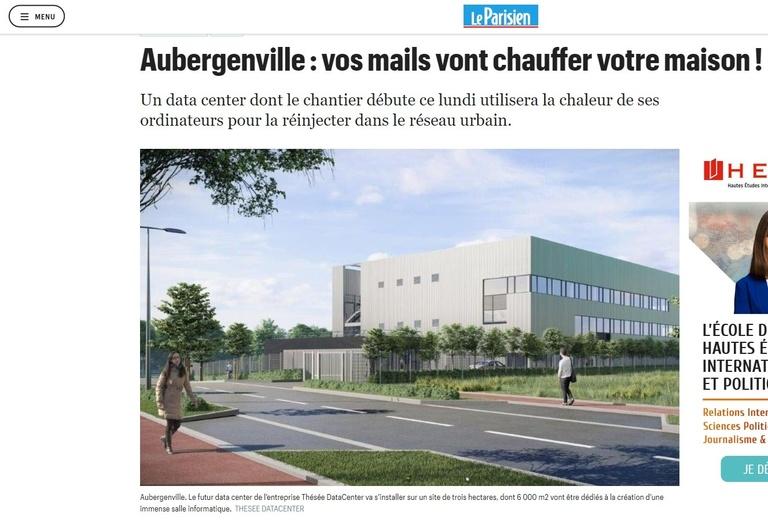 Sterenn Architecture - Le projet d'Aubergenvilles dans le Parisien