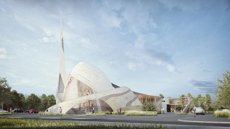 Sterenn Architecture - Eglise Saint-Joseph-le-Bienveillant