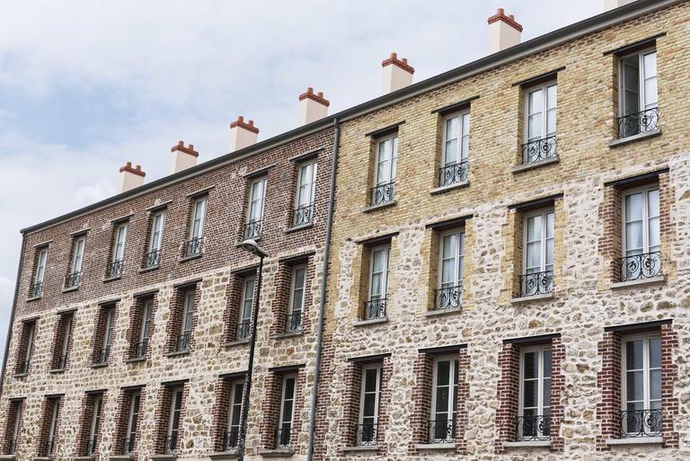 Sterenn Architecture - La Closerie: Immeuble de logements à Aubervilliers